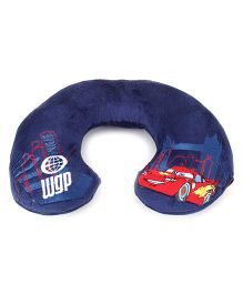 Disney International Cars 2 Neck Pillow - Navy Blue