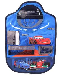 Disney International Cars Back Seat Organizer - Blue
