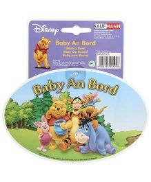Disney International Winnie the Pooh Baby On Board Car Sticker
