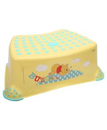 Disney International Winnie the Pooh Step Stool - Yellow