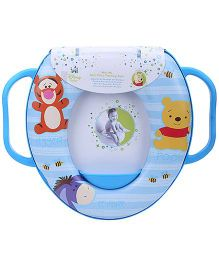 Disney International Winnie The Pooh Soft Potty Training Seat - Blue