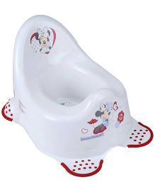 Disney International Minnie Potty Chair 2K - White And Red