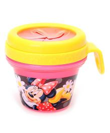 Disney International Minnie Snack Bowl Pink And Yellow - 240 ml
