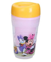 Disney International Minnie Mouse Grown Up Trainer Cup 250 ml - Yellow
