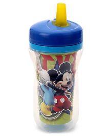 Disney International Mickey Insulated Straw Cup Blue - 270 ml