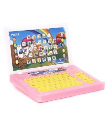 Prasid English Teacher Laptop - Pink And Yellow