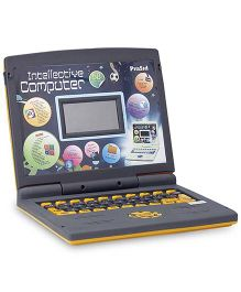 Prasid Intellective Learning Computer With 50 Activities - Yellow And Black