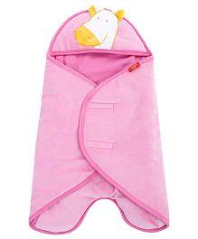 Sapphire Carry Nest Giraffe Patch - Pink