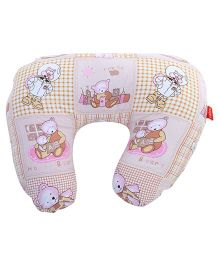 Sapphire Feeding Pillow Small - Light Peach