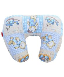 Sapphire Feeding Pillow Small - Sky Blue