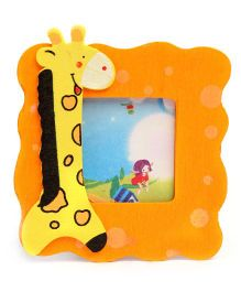 Giraffe Photo Frame Stand - Orange