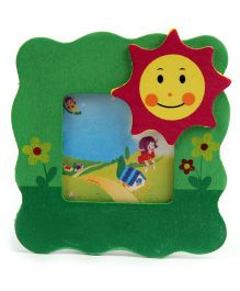 Sun Design Wooden Photo Frame Stand - Green