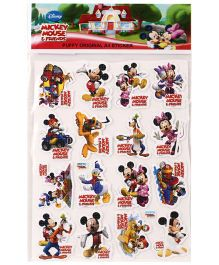 Mickey Mouse and Friends Puffy A4 Stickers