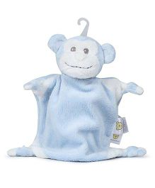 Piccolo Bambino Mini Cuddly Pal On Hook Monkey - Blue