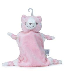Piccolo Bambino Mini Cuddly Pal On Hook Kitty - Pink