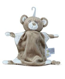 Piccolo Bambino Mini Cuddly Pal On Hook Bear - Brown