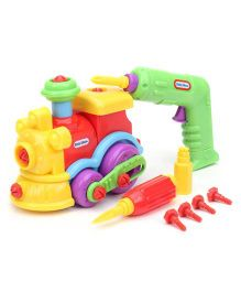 Little Tikes Little Builder - Yellow Red Green