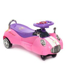 Twister Car Ride On - Pink And Purple