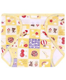 Babyhug Waterproof Nappy With Velcro Closure Extra Large Single Piece - Assorted Colors