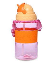 Sipper Water Bottle 300 ml - Pink