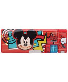 Disney Mickey Mouse And Friends Pencil Box - Red
