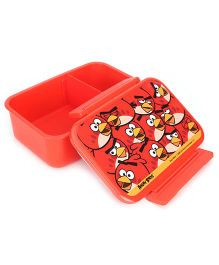 Angry Birds Air Tight Lunch Box 1860 ml - Red