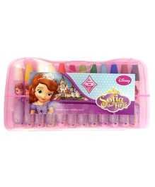 Disney Sofia The First Oil Pastel - 12 Shades