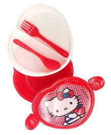 Hello Kitty Lunch Box - Red