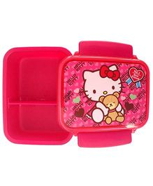 Hello Kitty Lunch Box Double Compartment - Pink