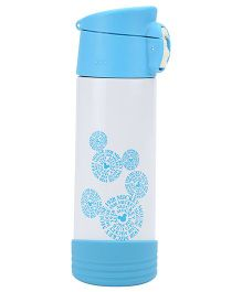 Disney Mickey Mouse And Friends Water Bottle White And Blue - 500 ml