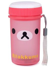 Water Bottle Rilakkuma Print 200 ml  - Pink