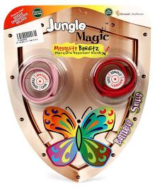 Jungle Magic Mosquito Banditz Butterfly Shield - Pink And Red