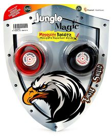Jungle Magic Mosquito Banditz Eagle Shield - Red And Black