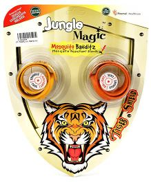 Jungle Magic Mosquito Banditz Tiger Shield - Yellow And Orange