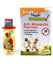 Jungle Magic Mosquito Tattooz - 30 Patches