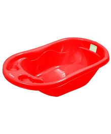 Sunbaby Bath Tub Fish Design - Red