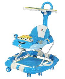 Sunbaby Joyride Walker Cum Rocker - Blue