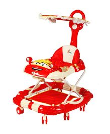 Sunbaby Joyride Walker Cum Rocker - Red