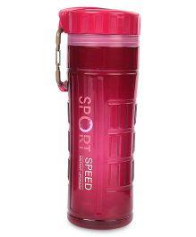 Water Bottle With Filter Net Sport Design 600 ml - Pink
