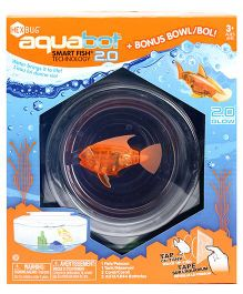 Hexbug Aquabot Fish With  Bowl - Orange