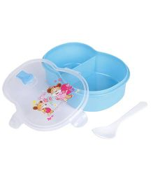 Lunch Box With Spoon - Blue