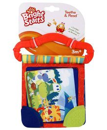 Bright Starts Teeth And Read Rattle - Orange