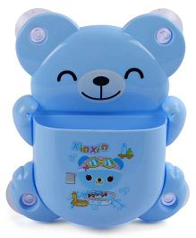 Toothbrush Stand Bear Shape - Blue