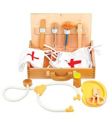 Classic World Wooden Doctor Set - Multicolor