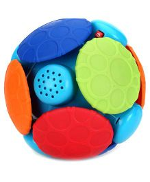 Bright Starts Wobble Bobble Ball - Multi Color