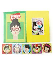 Cocomoco Kids Funny Faces Board Game - Multicolor