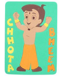 Chhota Bheem Puzzle Set - Multicolour