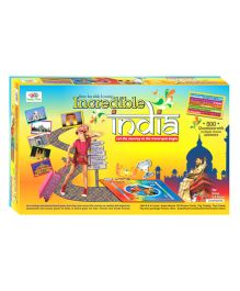 Happy Kidz Incredible India Educational Board Game