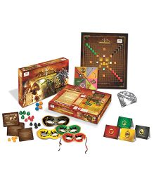 Happy Kidz Mahayoddha Board Game Strategy Board Game