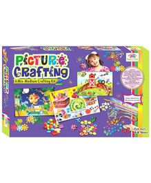 Happy Kidz Picture Crafting Art And Craft Kit